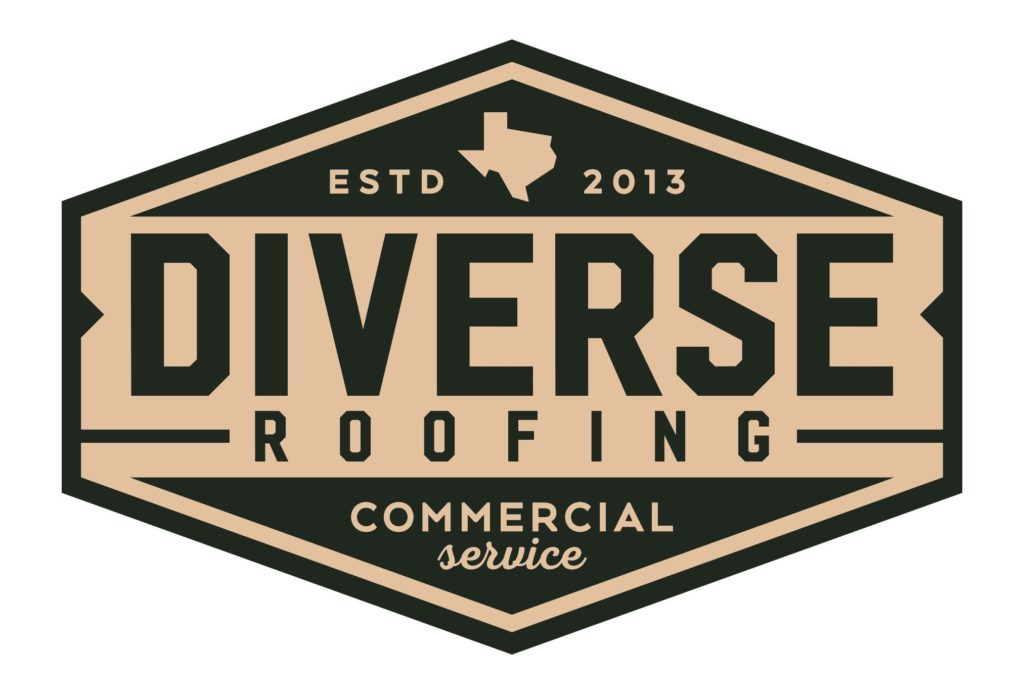 diverse roofing commercial logo design by left hand design in austin texas