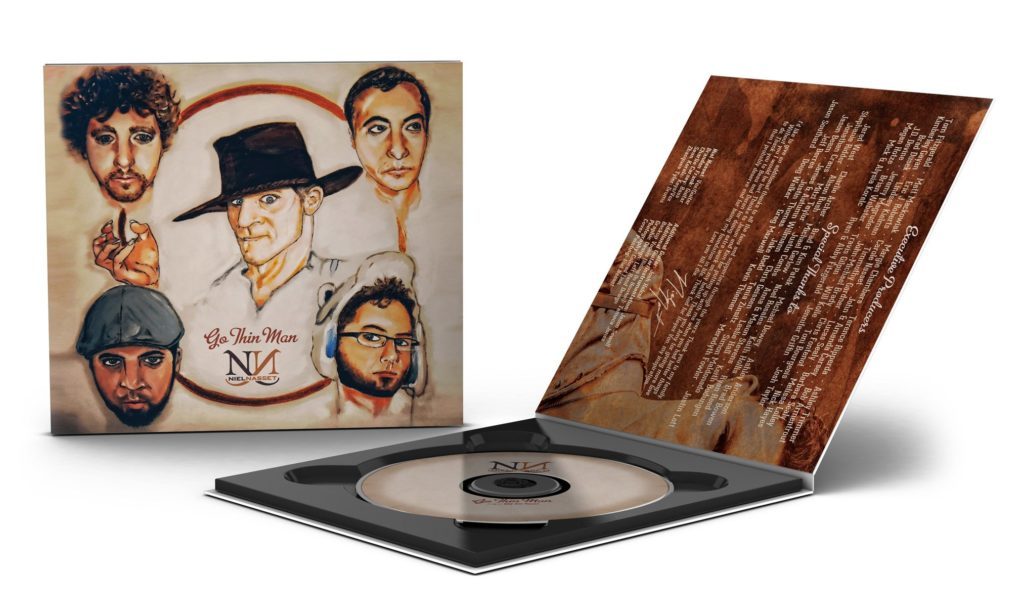 niel nasset band album design by left hand design in austin texas
