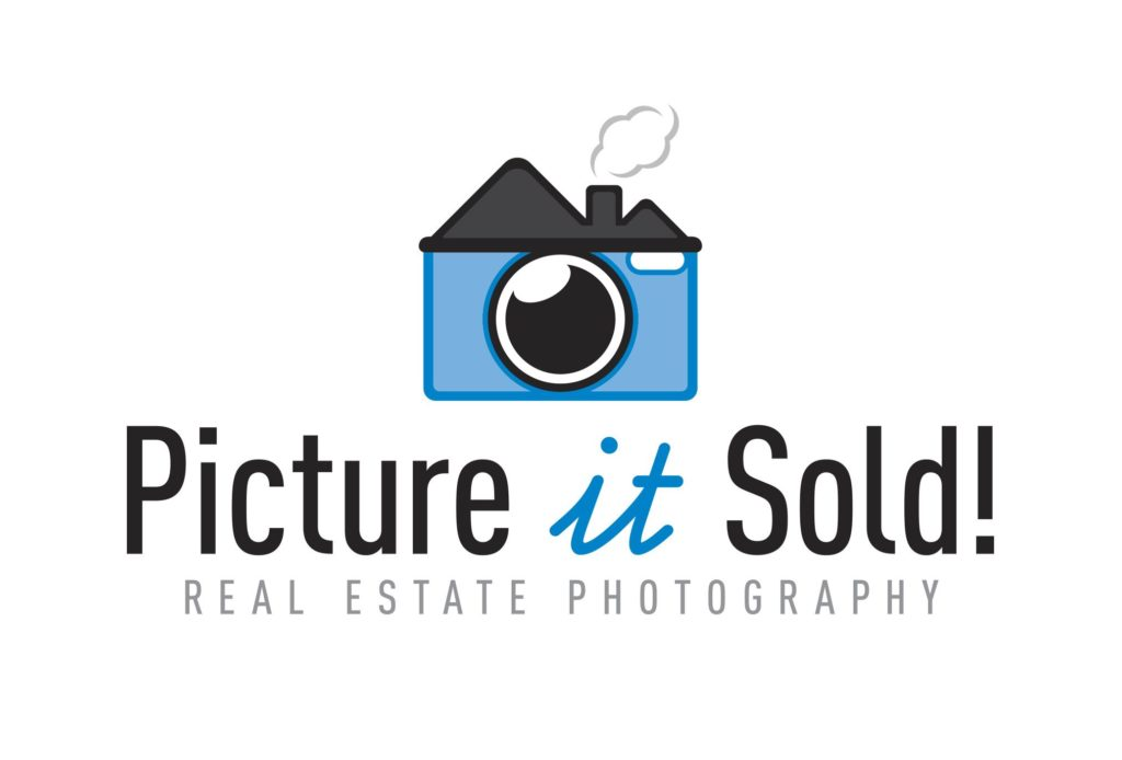 picture it sold photography logo design by left hand design in austin texas