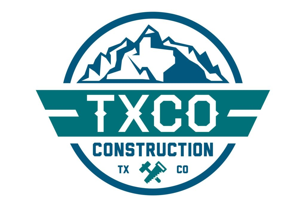 txco construction logo design by left hand design in austin texas beau morrow