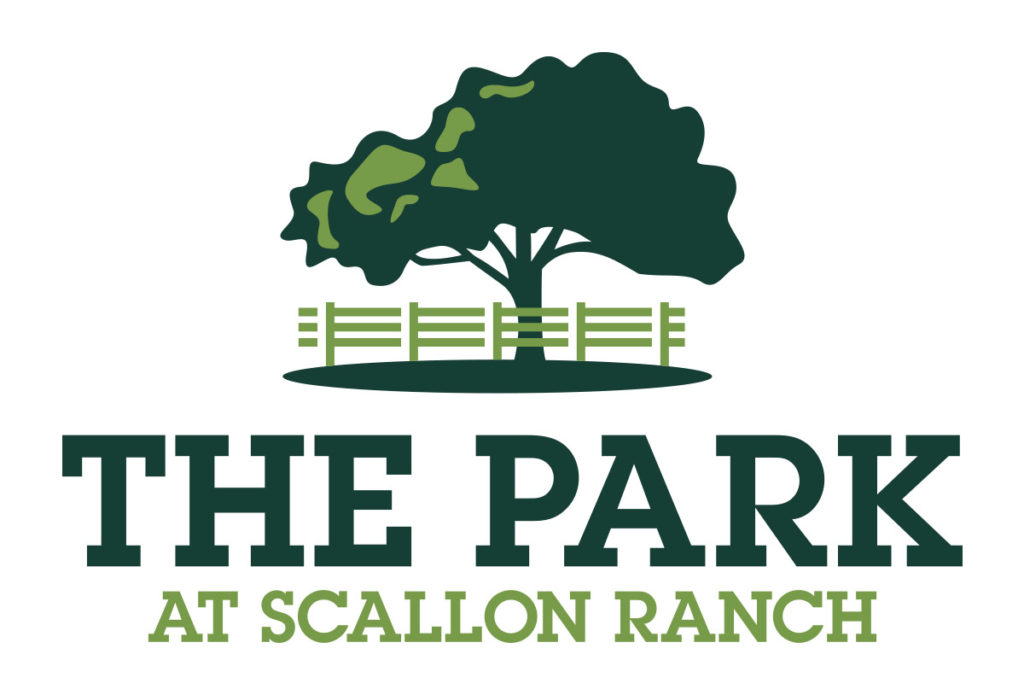 scallon ranch the park logo design in austin texas by beau morrow for left hand design